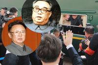 """Tajemství Kimova """"Orient Expresu"""": Je neprůstřelný, pomalý a plný vína"""