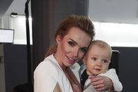 Hana Mašlíková poprvé se synem na veřejnosti: Sedm měsíců ho skrývala