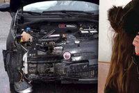 Opilá Angelika havarovala na dálnici: Ve voze vezla dítě (3)!