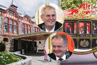 Apartmán za 61 tisíc, jízda v kočáře: Kiska nachystal Zemanovi tatranský luxus