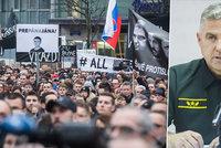 Slováci kvůli vraždě Kuciaka opět vyšli do ulic. Chtějí hlavu šéfa policie