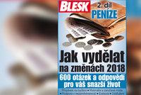 Velký rádce Blesku: Jak vydělat na změnách v roce 2018 2. díl – Peníze!