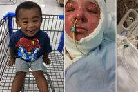 Dvouletý hrdina: Chlapec zachránil svou matku a sestru před plameny, sám zemřel