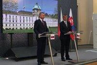 """Pellegrini v Praze: Kvalitu jídla s ním """"Slovák"""" Babiš řešil česko-slovensky"""