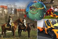 Tipy na víkend: Autoshow odhalí největší »pecky« a na Veveří a ve Valticích zaútočí Napoleon