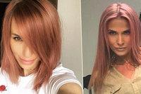Růžová mánie? Ochotská i Mašlíková si obarvily vlasy!