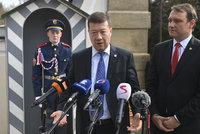 Doufáme, že vláda vznikne spoluprací ANO, KSČM a SPD, shodli se Okamura a Zeman