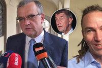 Kalousek varuje ČSSD, Bartoš zmínil Babišovu svízel. A komunistům je hej
