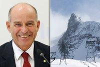 Miliardář se ztratil v horách: Šance na přežití je nulová, bojí se záchranáři
