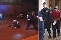Brutální napadení hlídky v Krupce: Na policisty útočili otec se synem