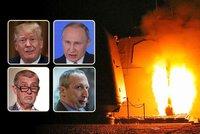 Monstrum, šílenci a splněná mise: Útok na Sýrii spustil palbu reakcí