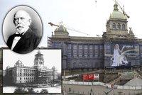 """Tak šel čas s Národním muzeem: Palacký ho chtěl na Smetanově nábřeží, stát mohlo i na """"Karláku""""! Dnes slaví 200 let"""
