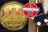 """Šmejdi zušlechtění zlatem:""""Unikátní mince"""" za tisíce mají hodnotu pár korun!"""