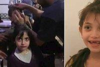 Chemický útok očima syrské holčičky (8): Dýchali jsme zápach krve místo vzduchu