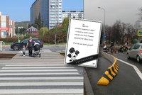 """Na Ládví pohřbili bezpečný přechod: """"Projekt byl hloupý, doprava je přetížená,"""" říká starosta"""