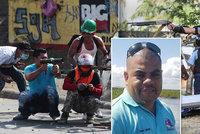 Novináře zavraždili v přímém přenosu. Pachatel mu prostřelil hlavu