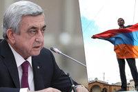 Arménský premiér padl, fígl s přebráním prezidentských pravomocí mu nevyšel