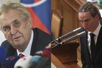 Piráti chtějí utnout střet zájmů i prezidentovi,  Zeman prý není proti
