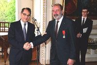 Šéf rozhlasových stanic Michel Fleischmann převzal Řád čestné legie: Ocenili ho za celoživotní dílo a přínos!