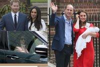 Malého prince už zná rodina: Těhotná Pippa spěchala, Meghan vynechali?!