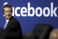 Zuckerberg se tetelí: Zisk Facebooku vzrostl o 63 procent a účty má 2,2 miliardy lidí
