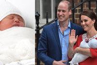 Princátko se jmenuje Louis Arthur Charles! Co jméno znamená a po kom ho zdědil?
