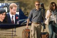 Princ Harry a Meghan: Ještě se nevzali a už je natočili nahé v posteli
