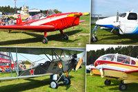 Největší letecká šou na západě Čech: Nebe ožilo desítkami letadel