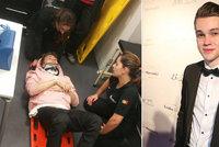 Z pódia rovnou do nemocnice! Mikolas Josef (22) se vážně zranil při vystoupení na Eurovizi