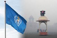 Špinavé ovzduší ročně zabíjí sedm milionů lidí. Nejhůř je v Káhiře a Dillí