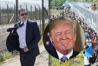 Maďarský starosta doufá, že si jeho plot proti migrantům vezme za vzor Trump