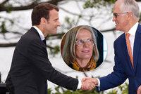 """""""Lahodná,"""" řekl Macron o ženě premiéra Austrálie. Přeřeknutí, nebo průšvih?"""
