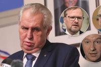 """""""Agent Kremlu, co testuje vodku."""" Zeman to schytává za novičok, Babiš se diví"""