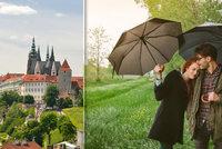 Prosluněný květen v Praze? Ještě si počkáme, jistotou je deštník a bunda