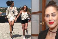 Neopatrná Aneta Vignerová: Ukázala, co má pod sukní!