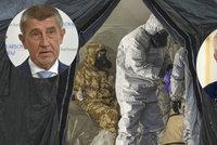 Zeman lhal? Tajné služby: Novičok se v Česku nevyráběl ani neskladoval