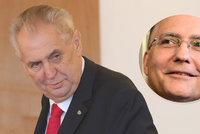 Vláda navrhuje Zemanovi jmenovat tucet generálů. Znovu to zkouší i se šéfem BIS