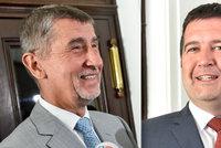 """Babiš s Hamáčkem mají koaliční smlouvu. ODS: """"A přivádí k moci komunisty"""""""