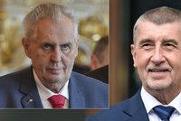 Babiš zase u Zemana: Co nového premiér v demisi nasliboval?