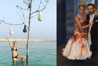 Tanečnice Hunčárová opustila Itala Ridiho! S kým vyrazila k moři?