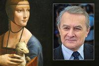 Polský ministr ustál aféru kolem koupě proslulé Dámy s hranostajem