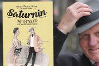 Český Bestseller za rok 2017: Saturnin se vrací od expolitika Macka
