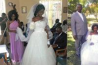 Nevěstě ukousl krokodýl ruku pět dní před svatbou. Ženich do něj bušil pěstmi