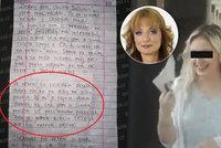 Psycholožka o dopisu Terezy H. (22) z pákistánského vězení: Nepřipouští si, v jakém je průšvihu!