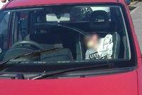 Další nezodpovědní rodiče: Chlapečka (1,5) nechali v autě a šli nakupovat, dítě zachránili hasiči