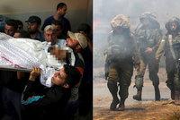Izraelci zabili osmiměsíční palestinskou holčičku. V Gaze zemřelo už 58 lidí