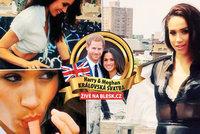 """Královnu """"omejou""""! Uniklo rajcovní video Meghan Markle: Takhle svádí Harryho nevěsta"""