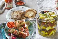 V hlavní roli ajvar: 3 recepty, které vám udělají doma léto a přenesou vás do Středomoří
