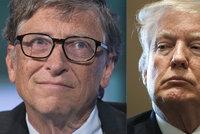 """Bill Gates o setkání s Trumpem: """"Vyděsilo mě, co všechno ví o vzhledu mé dcery"""""""