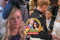 Nervózní Harry, superklidná Meghan i zoufalá bejvalka! Co na svatebčany prozradila řeč těla